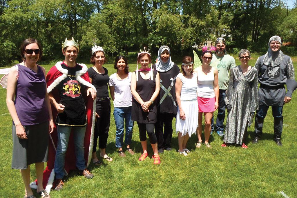 Parent volunteers are royalty at WT!