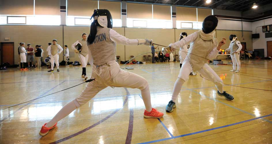 Athletics-Feature—Fencing