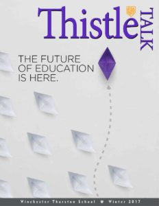 Thistle Talk. The future of education is here.