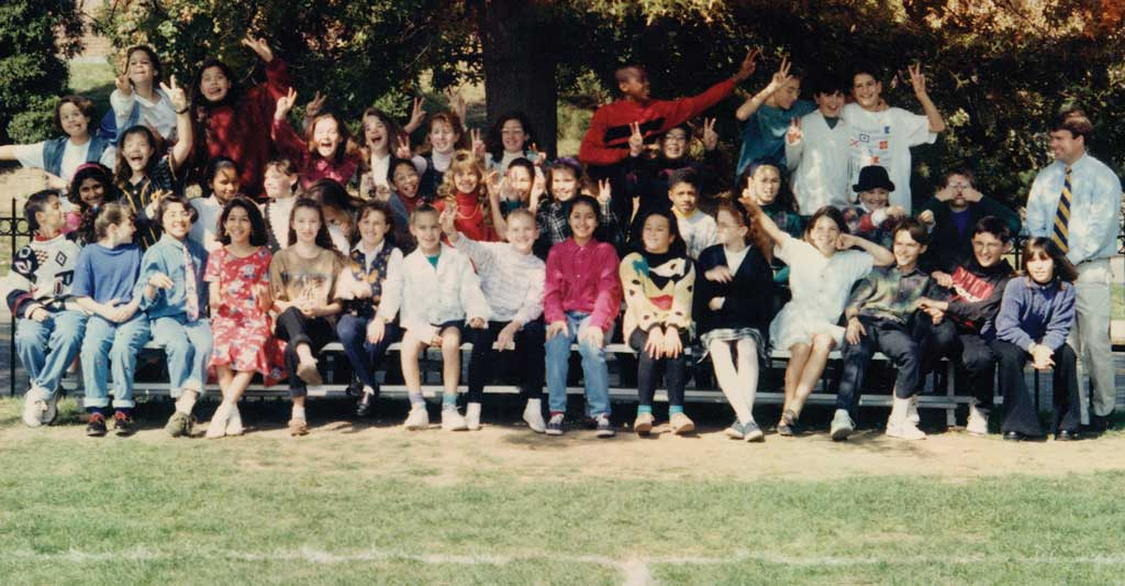 Members of the Class of 2000