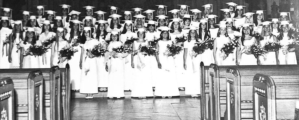 Class of 1970 Commencement Photo
